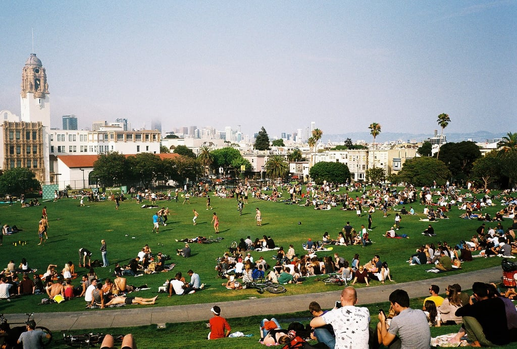 Spend the afternoon at Dolores Park in the Mission.