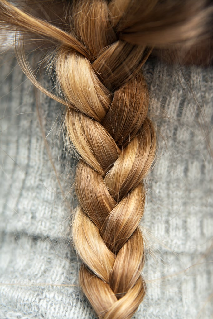 Sleep with braided hair for fuss-free waves