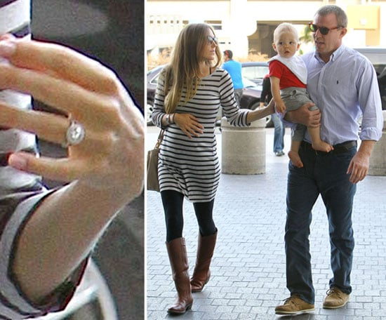 Guy Ritchie and His Pregnant Fiancée at LAX