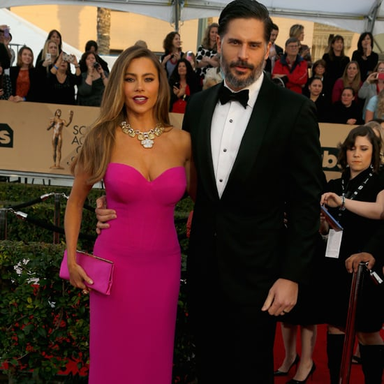 Sofia Vergara and Joe Manganiello at the SAG Awards 2016
