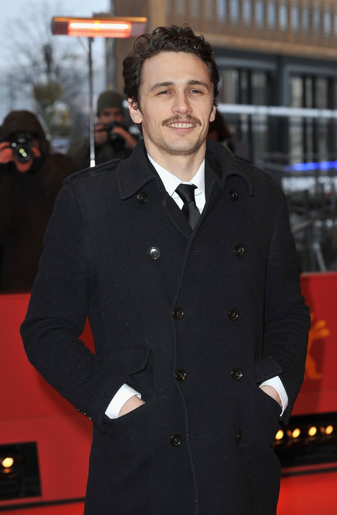 James Franco at the Berlin Film Festival promoting Howl