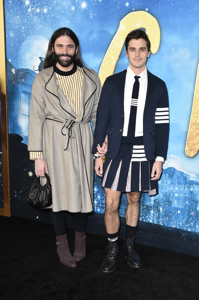 Jonathan Van Ness and Antoni Porowski at the Cats World Premiere in NYC
