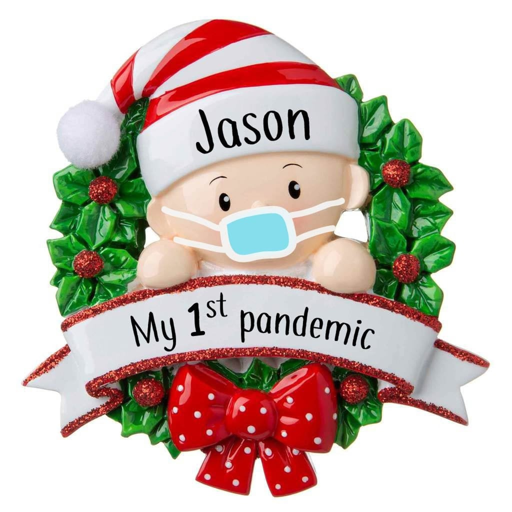 Baby S First Christmas Christmas Ornament Shop Pandemic Themed 2020 Christmas Ornaments For Families Popsugar Australia Parenting Photo 16