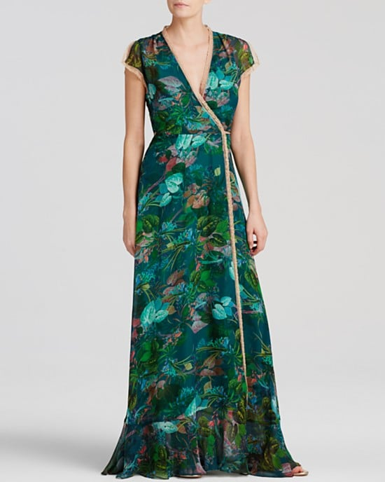 I have an outdoor wedding coming up this month, and I'm crazy about this Twelfth Street by Cynthia Vincent silk maxi dress ($263, originally $375). It's eye-catching without being too over-the-top, and I can only imagine how comfortable dancing in this movable design would be. — SW