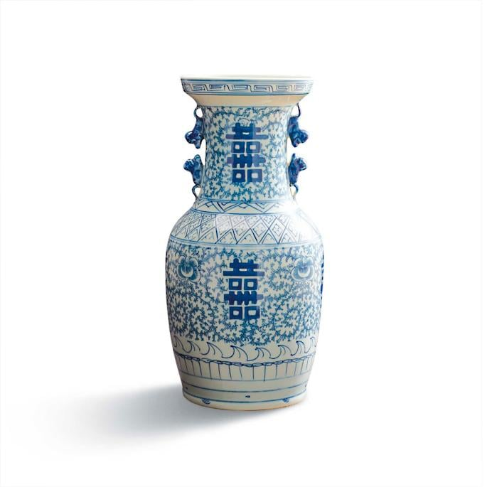 Bonnie: Chinoiserie Happiness Vase