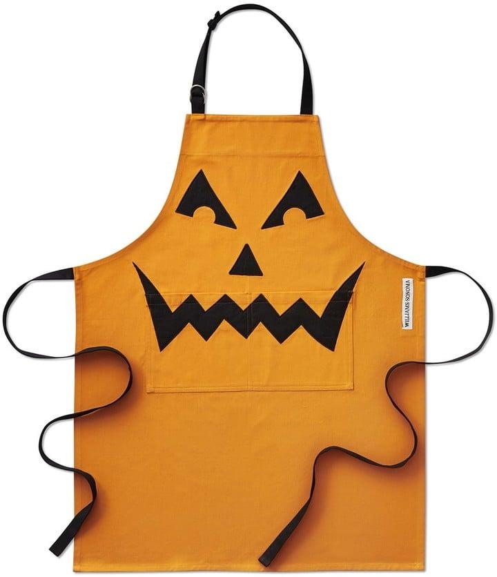 Williams Sonoma Halloween Jack O'Lantern Apron