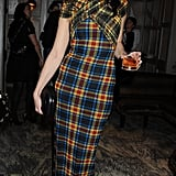 Daisy Lowe did Christopher Kane proud in this Versus Spring '11 dress