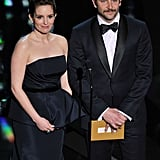 Tina Fey and Bradley Cooper