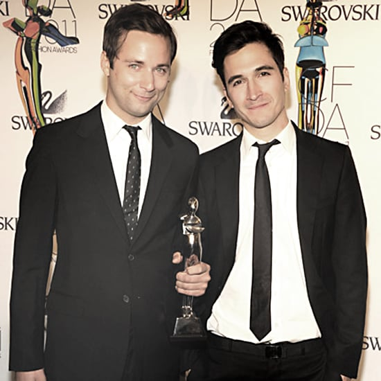 Proenza Schouler's Jack McCollough & Lazaro Hernandez, 2011 CFDA Womenswear Designers of the Year