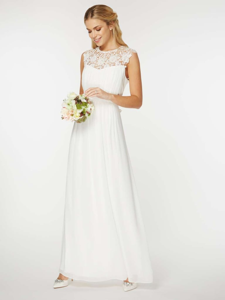 dorothy perkins bridal kathryn maxi dress wedding