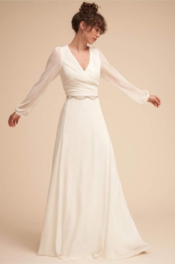 6f3e93dcf83 Vintage Floral Lace Patterned Illusion Bateau Neck A-line champagne lining Wedding  Dress