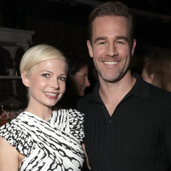 Michelle Williams and James Van Der Beek Reunion 2016