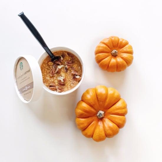 Starbucks Pumpkin Spice Oatmeal