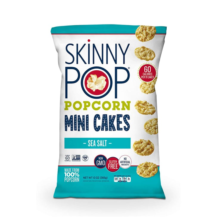 Skinnypop Popcorn Mini Cakes With Sea Salt Halle Berry S