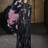 Gucci Look: This Sequin Dress With a Tiara