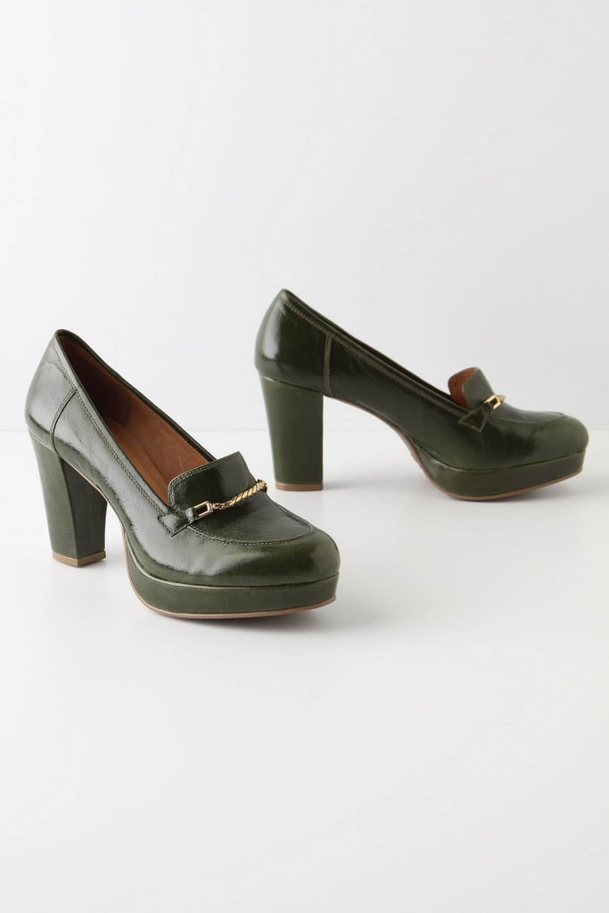 Anthropologie Glossed Loafers ($168)
