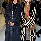 Diane von Furstenberg and Anna Wintour