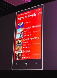 Microsoft Shows Off New Windows Phone 7 Series Apps in Las Vegas