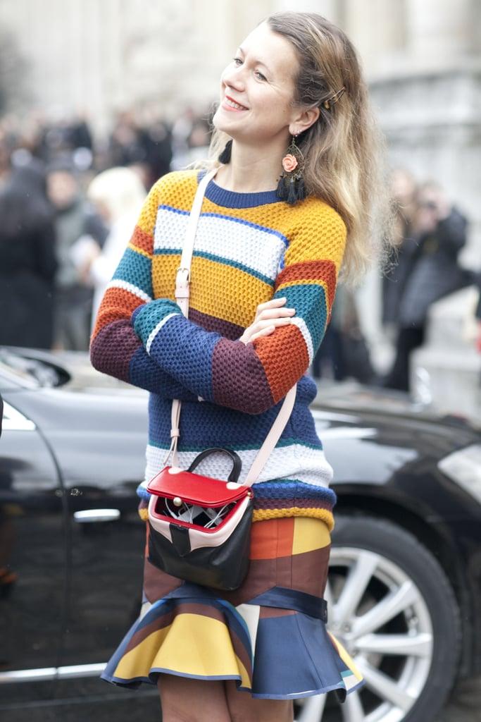 Paris Fashion Week Street Style Fall 2012