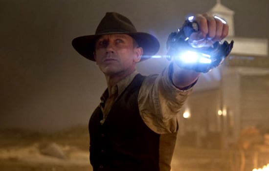 Trailer For Cowboys & Aliens Starring Daniel Craig, Olivia Wilde, and Harrison Ford
