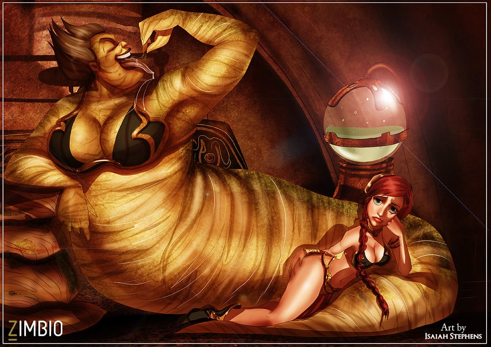 Star wars laea and jabba sex