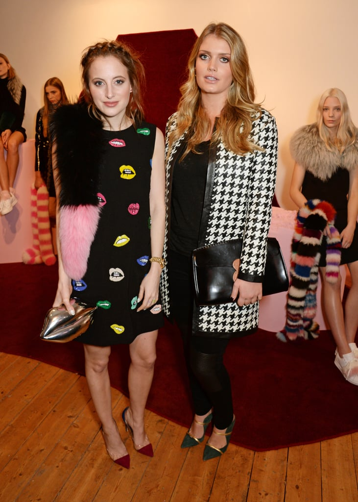 Rosie Fortescue and Lady Kitty Spencer