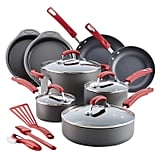 Rachael Ray 15-Piece Hard Anodized Aluminum Cookware Set