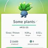 "Oddish aka ""Some plants"""