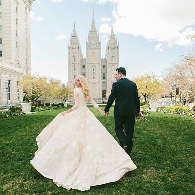 Modest Wedding Dress Inspiration | POPSUGAR Fashion