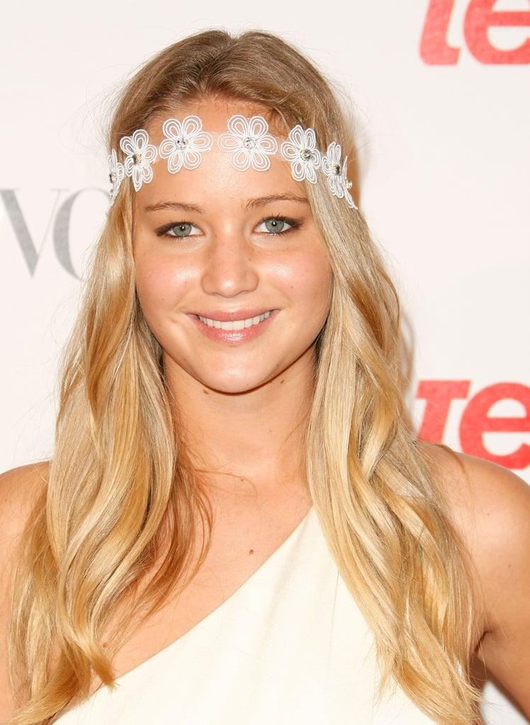 Jennifer Lawrence's Natural Hair Color