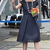 Queen Máxima in Rotterdam, The Netherlands.