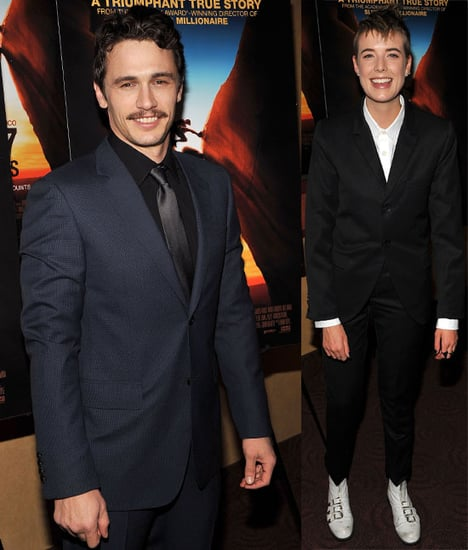 Pictures of James Franco and Agyness Deyn at 127 Hours Premiere