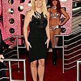 Britney Spears stepped out for her big Vegas arrival at Planet Hollywood, celebrating her upcoming residency.
