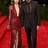 They Shut It Down at the Met Gala in Tawny Red and Brown