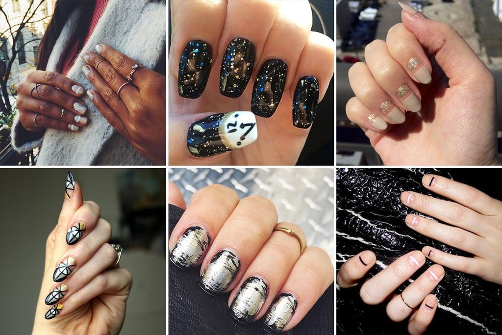 New Year\'s Eve Nail Art Ideas | POPSUGAR Beauty