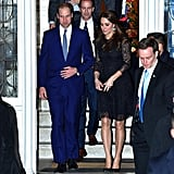 The Duchess of Cambridge also chose a Beulah London lace dress for a private event during her trip to New York in 2014. She also turned to the brand to accessorize another one of her outfits, taking a page out of Meghan Markle's fashion book by selecting a printed silk scarf.