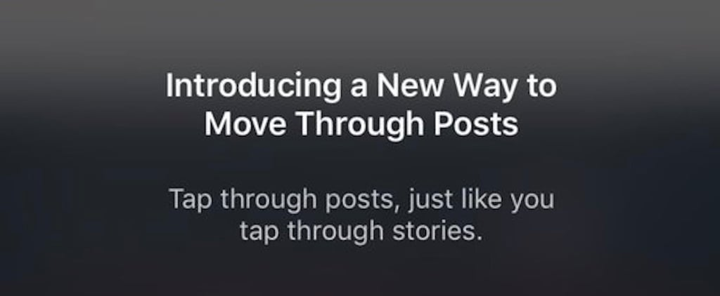 Instagram Newsfeed Scroll Update December 2018
