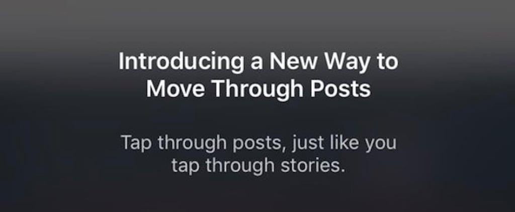 Instagram Newsfeed Scroll Update December 2018