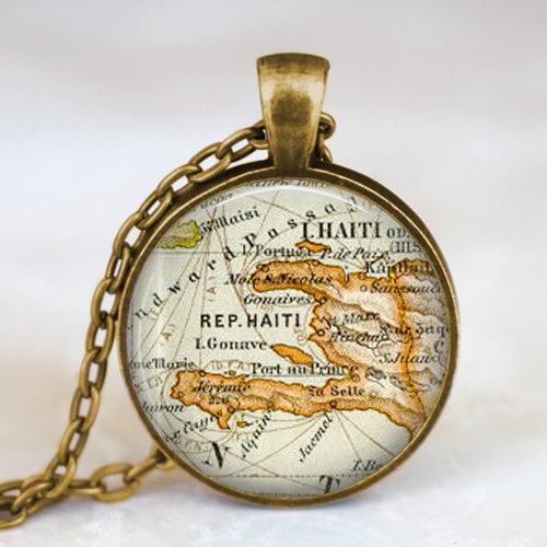 Map Jewelry