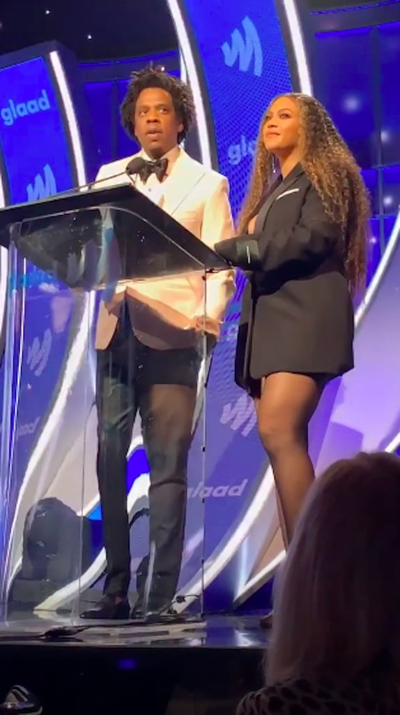 Beyoncé and JAY-Z at the 2019 GLAAD Media Awards