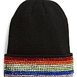 Tasha Rainbow Crystal Embellished Beanie