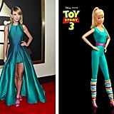 Taylor Swift is kind of a dead ringer for Barbie, right?