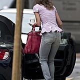 Pippa Middleton shows off her pilates-toned figure.