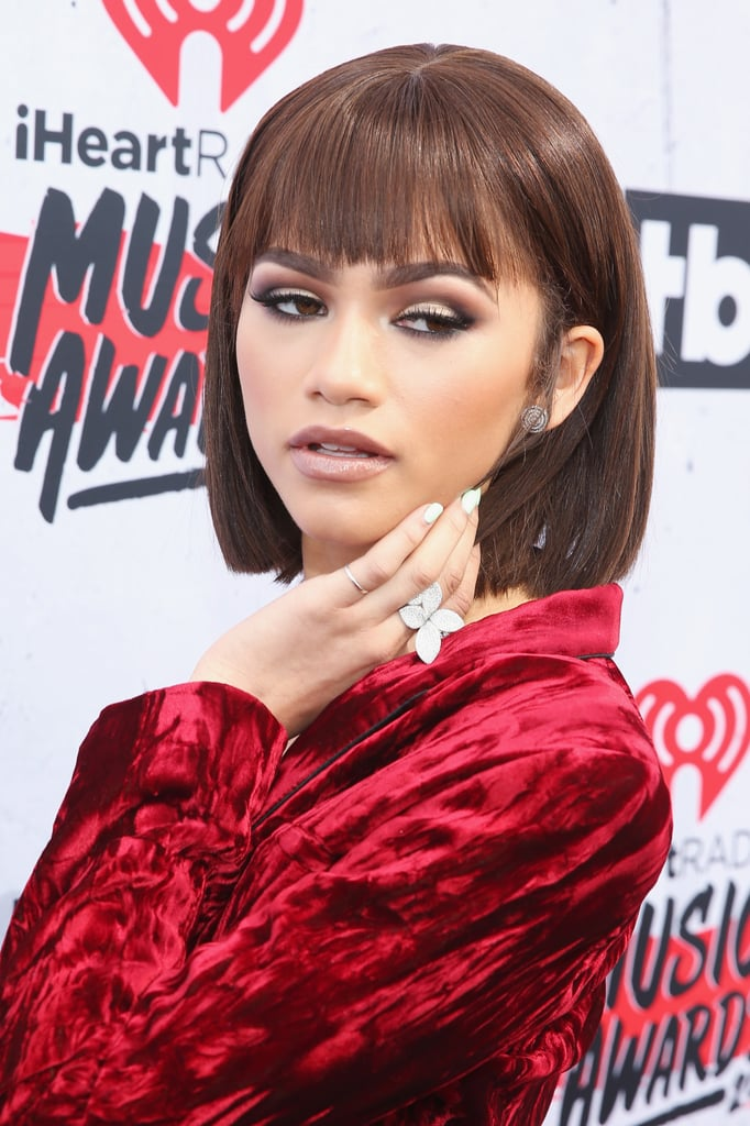 Zendaya at the iHeartRadio Music Awards