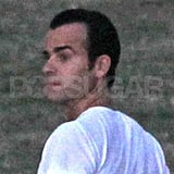 Justin Theroux in Hawaii.