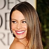 Sofia Vergara's Bright Plum Lips