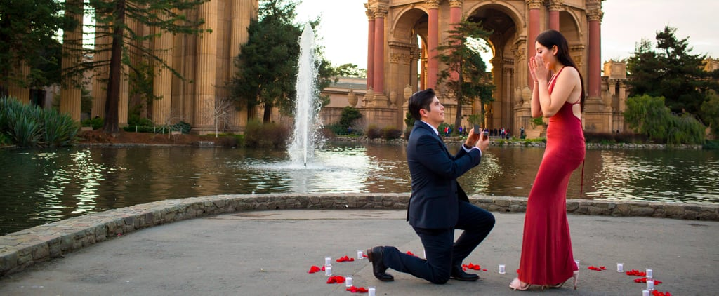 This Guy Nailed the Sweetest Surprise Proposal at San Francisco's Palace of Fine Arts