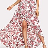 Milumia Bohemian Floral-Print Skirt