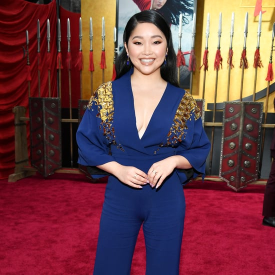 Lana Condor's Antonio Berardi Jumpsuit at the Mulan Premiere