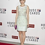 Kate Mara was the picture of femininity and polish in Peter Som for her DC premiere of House of Cards.